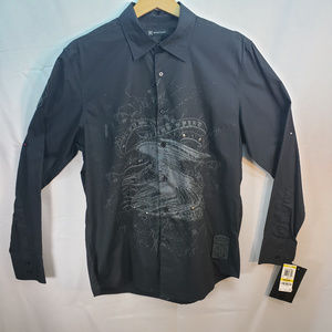 Inc Black Pimped Out Oxford NWT